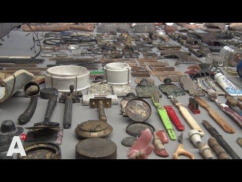 Opgravingen Noordzuidlijn tentoongesteld: 'We hebben een nieuw museum'