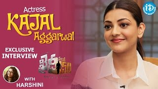 Khaidi No 150 Actress Kajal Aggarwal Exclusive Interview || Talking Movies with iDream #266