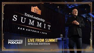 Dave Ramsey at The EntreLeadership 2018 Summit