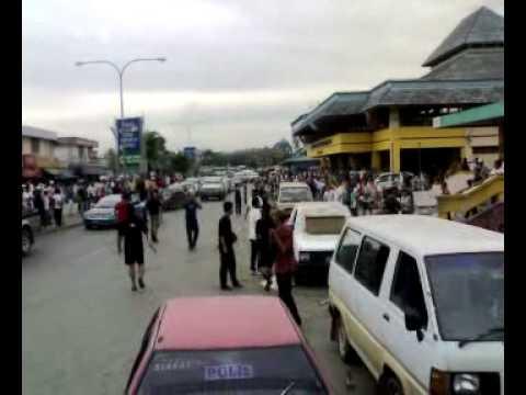 Tembak menembak di Pasar Besar Lahad Datu