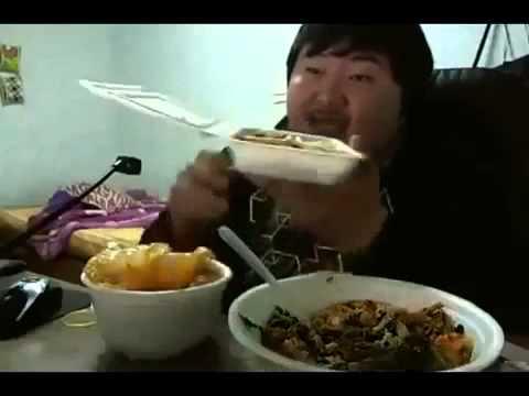 Корейский обжора! Смешно до слез!