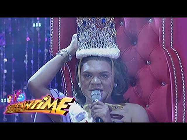 It's Showtime Miss Q & A: Miss Q & A: Juliana Parizcova Segovia's warm messege
