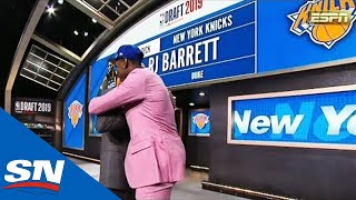 New York Knicks Select Canadian RJ Barrett 3rd Overall At NBA Draft