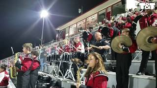 Police Officer Jams With High School Band