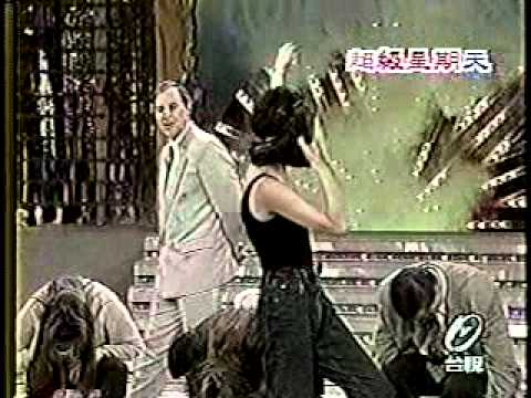 SEXY MODELS HYPNOTIZED ON TAIWAN'S SUPER SUNDAY TELEVISION SHOW TOM SILVER HYPNOTIST