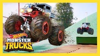 HOT WHEELS MEGA MONSTER TRUCK RC RAMPAGE | Monster Trucks: Episode 2 | Hot Wheels