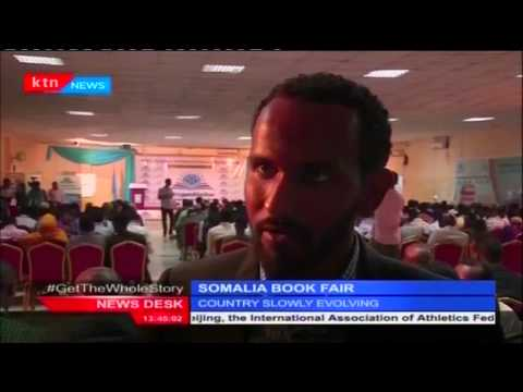 Somali capital Mogadishu hosted the country's first ever International book fair