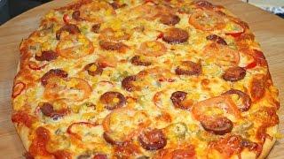 Ev yapimi pizza tarifi