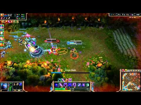 League of Legends - Yellow Jacket Shen - Full Game Commentary