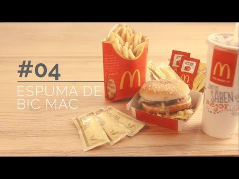 Espuma de Big Mac
