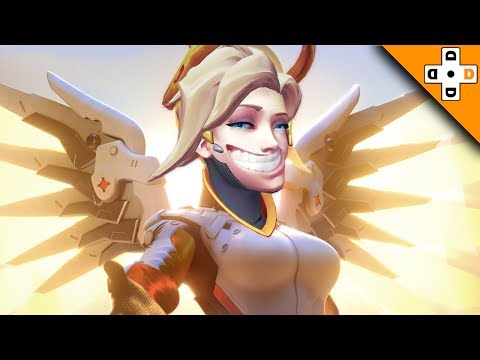 Overwatch Funny & Epic Moments 144 - TROLL MERCY - Highlights Montage