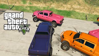 GTA 5 Online | SUMO CARS 4 | SAND KING XL