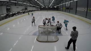 HIFK 02 C2 - Pelicans C2 (5-1) Laune 17-9-2016 goalie Risikko