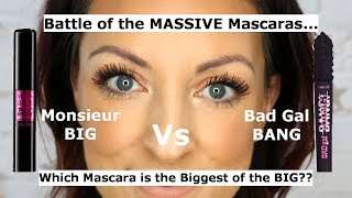 Lancome Monsieur Big mascara vs Benefit Bad Gal Bang mascara | Which is the best for massive lashes?