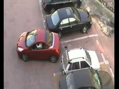 Отомстила за парковку!!! с авто сайта Осетии www.autotorg15.ru