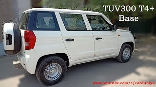 TUV300 (Base) T4+-Detailed Review