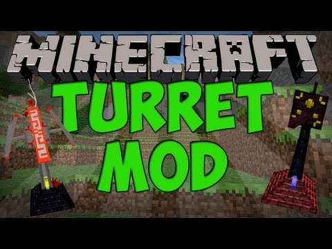 Minecraft Mods - Turret Mod (Full Review) (1.5.1)