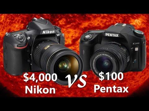 Image Averaging, Stacking, and Panoramas: Can a $100 Pentax beat a Nikon D810?