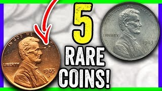 5 COINS THAT ARE WORTH MONEY - ERROR COINS IN CIRCULATION