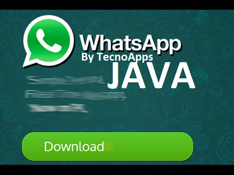WHATSAPP JAVA GRATIS (Móviles) (.jar)