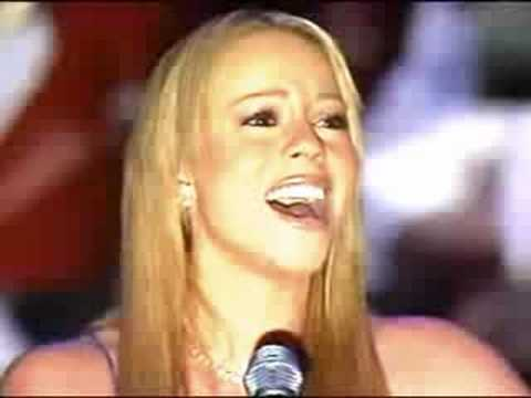Mariah Carey - Star Spangled Banner (live) (with Lyrics) video
