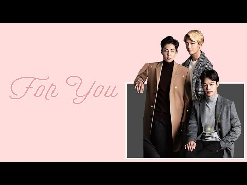 EXO Chen, Baekhyun, Xiumin - For You (Hangul, English And EASY Lyrics)