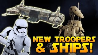 CLASS CUSTOMIZATION, EXPLOSIVES, 64 SHIP BATTLES & MORE - Star Wars Battlefront 2 News