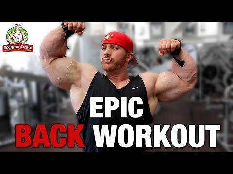 Flex Lewis' Epic Back Workout