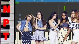 Fifth Harmony ft. Ty Dolla Sign - Work From Home - Piano Tutorial - How to play + LYRICS