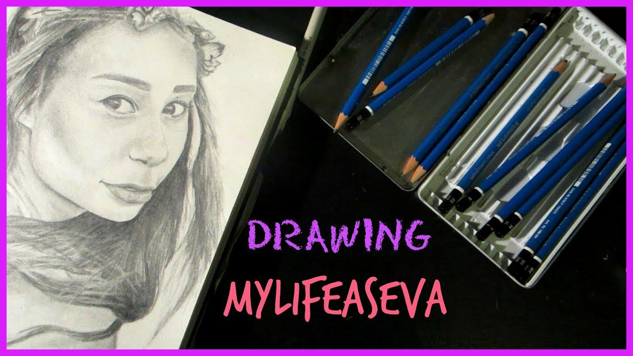 Drawing Mylifeaseva  Eva Gutowski