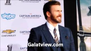 Chris Evans styles him hair why is he langhing ? (More At Galatview.com)