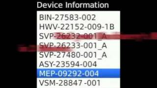 How to find your Blackberry MEP