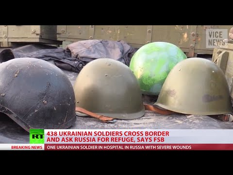 Over 400 Ukrainian soldiers flee to Russia, ask for refuge