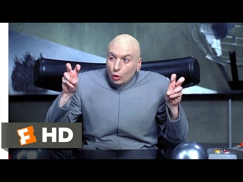 Austin Powers Movie Clip - watch all clips http://j.mp/wECutG click to subscribe http://j.mp/sNDUs5 Buy Movie: http://j.mp/uLfNvi Dr. Evil (Mike Myers) revea...