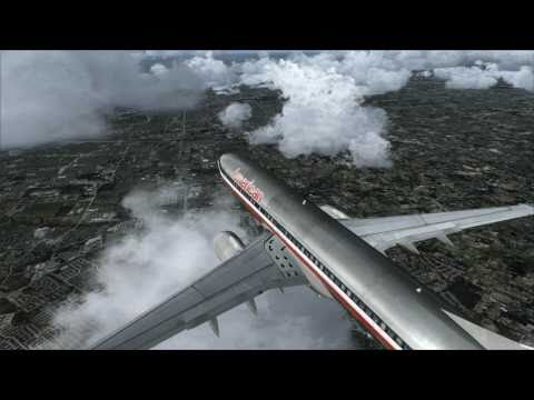 [HD] FSX ARIANE 737-800 American Airlines- KDFW Dallas Fort Worth MegaSceneryEarth