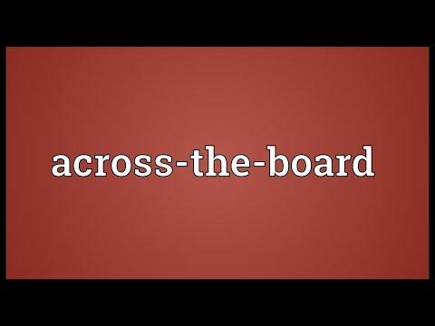 Header of across-the-board