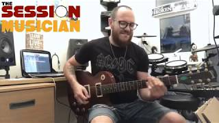 Green Day 'Father Of All...' - Guitar Cover by The Session Musician