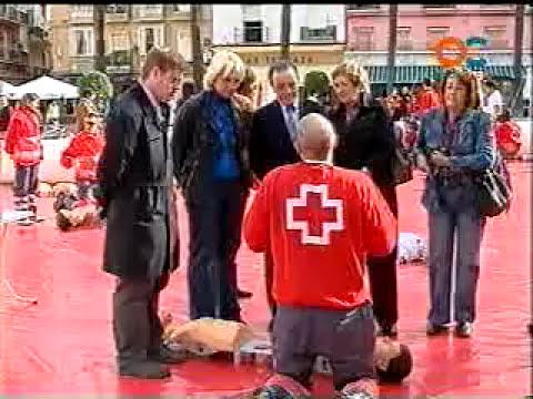 Primeros auxilios: reanimación cardiopulmonar RCP (Cruz Roja)