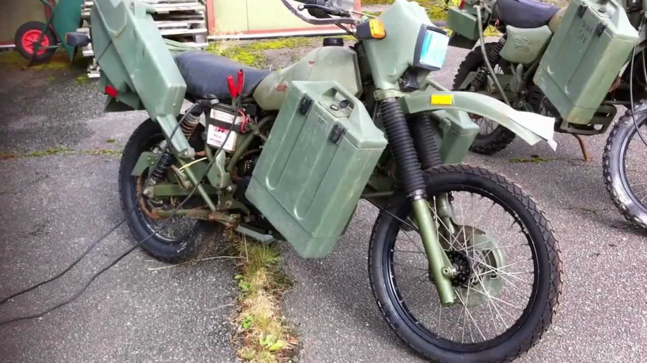 Harley Davidson 350mt Army Motorcycle For Sale With