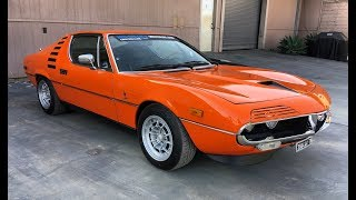 1974 Alfa Romeo Montreal - One Take
