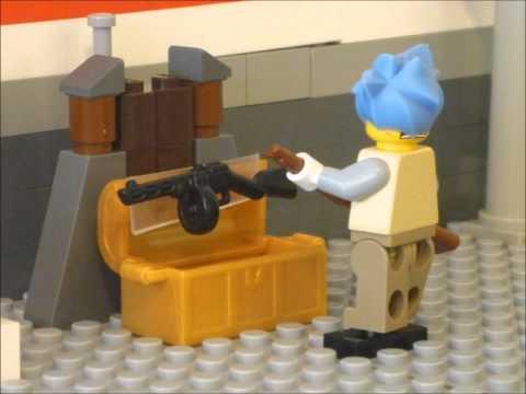 NAZI ZOMBIE LEGO STOPMOTION