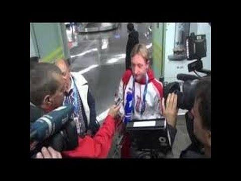 Plushenko and his early exit / Достойный ответ Плющенко