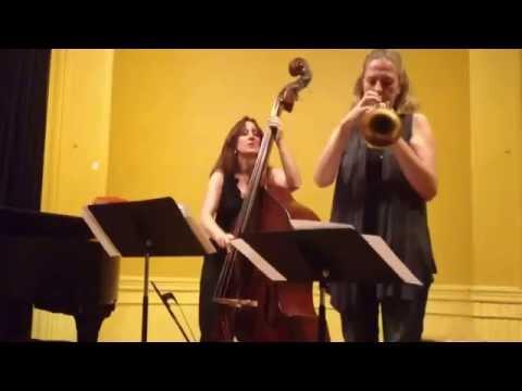 Ellen Rowe, Mary Ann McSweeney, Ingrid Jensen perform