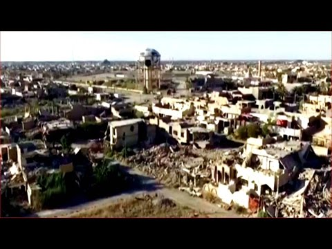 Rare drone footage shows unprecedented levels of suffering in Iraq and Syria