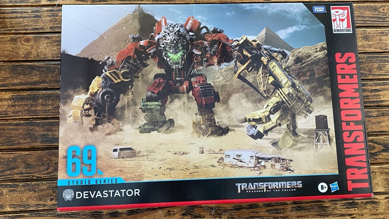 Transformers Studio Series 69 DEVASTATOR Unboxing & Comparison Review