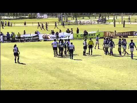 San Diego Surfers vs. Keystone Griffins [1st Half] - 2012 USA Rugby Women's Premier League Playoffs