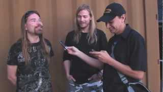 SABATON Pär & Thobbe Interviewed In Tempe