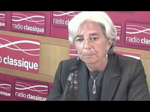 Christine Lagarde, invitée de Nicolas Pierron