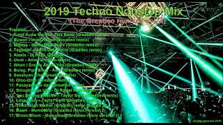 2019 Techno Nonstop mix The Greatleo Remixes Vol  4  by Jean gomobao