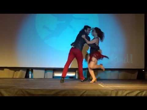 00102 RZCC2016 Monica and Diego in Samba performance 2 ~ video by Zouk Soul